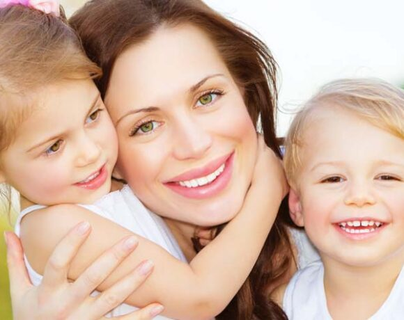 single parent, single mom, happy kids