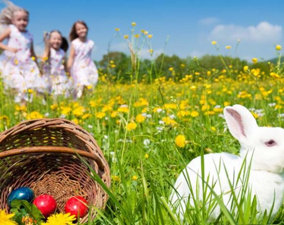 easter traditions, home, family, customs, single parents, chanelle dupre