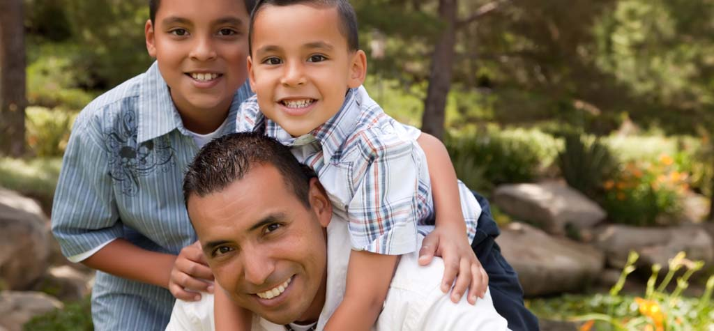single dad, single parent, change, emotional impact, happiness with kids