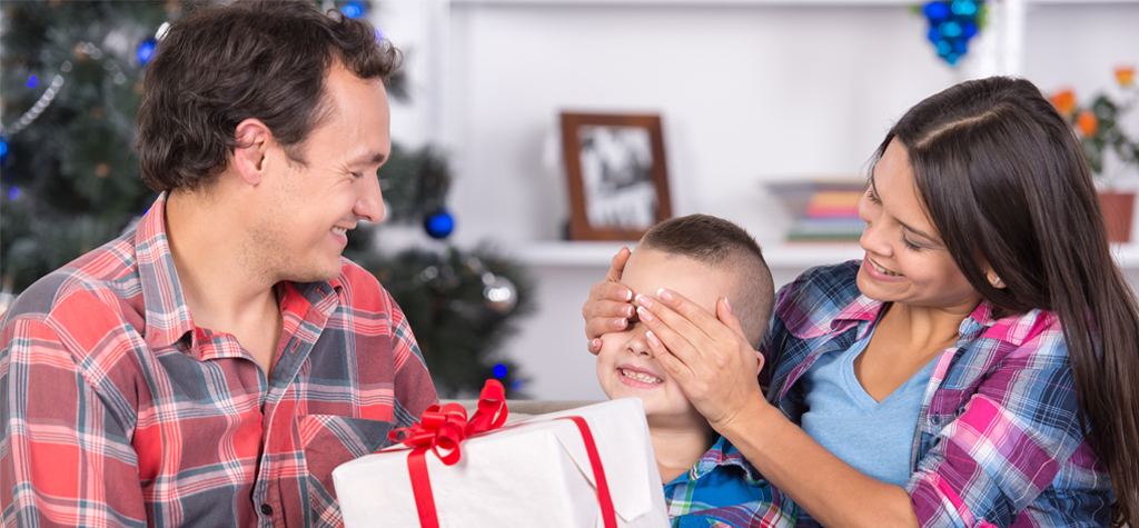 Co-parent holiday tradition