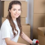 move, household, single parents, moving