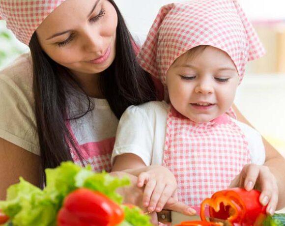 single parent, healthy, lifestyle, habits, kids